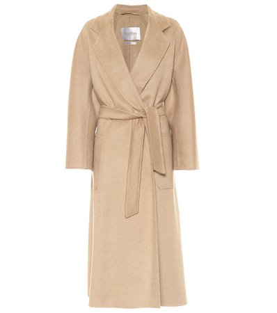 Labbro Belted Cashmere Coat - Max Mara | Mytheresa