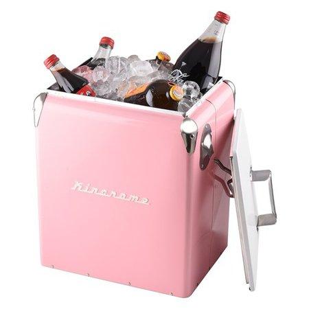 Pink Retro Cooler