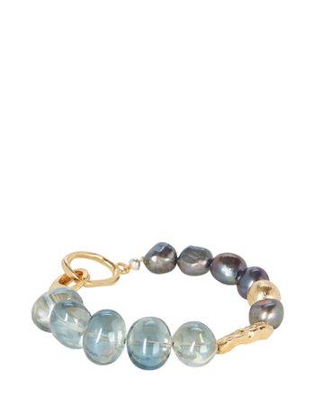 MOUNSER Prismo Pearl Charm Bracelet | INTERMIX®