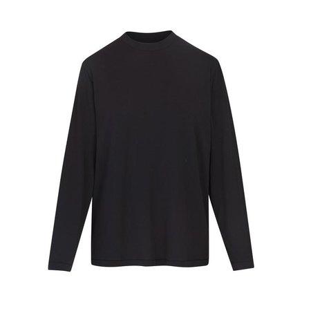 Boyfriend Long Sleeve T-Shirt - Onyx | SKIMS