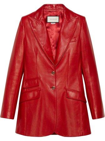 Gucci Lambskin Tailored Blazer - Farfetch