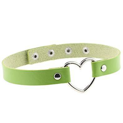 Green Heart Choker