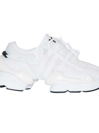 Y-3 Mesh Low Top Sneakers