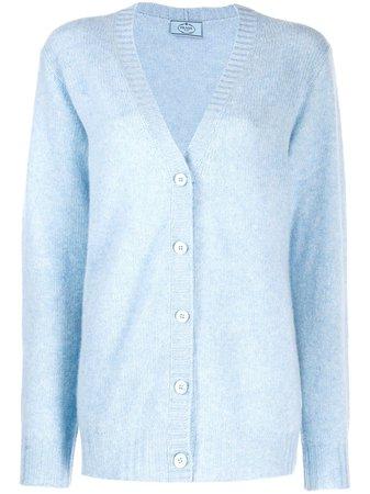Prada Oversized Knitted Cardigan - Farfetch