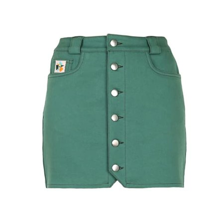 Rogue Skirt In Green | blonde gone rogue | Wolf & Badger