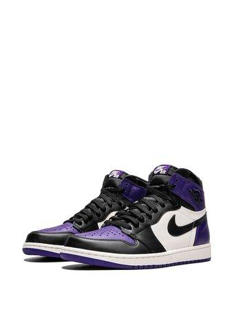 Jordan Air Jordan 1 Retro High OG Court Purple - Farfetch