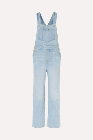 Olympia Denim Overalls - Light denim