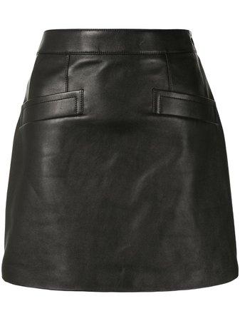 Saint Laurent high-rise Mini Skirt - Farfetch
