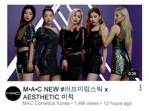 Aesthetic & MAC YouTube CF