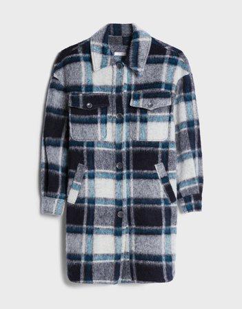 Long coat - Jackets and Blazers - Woman   Bershka