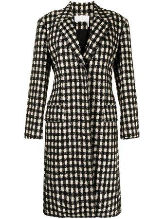 Chloé Checked single-breasted Coat - Farfetch