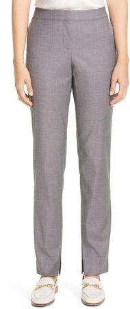 Waldorf Slit Hem Slim Pants