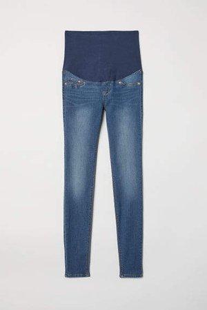 MAMA Super Skinny Jeans - Blue