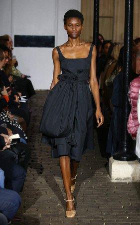 Camilla Belt Bag Crepe De Chine Midi Dress