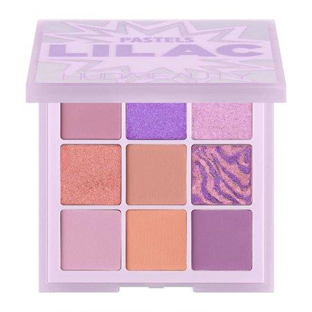 pastel purple eyeshadow palette