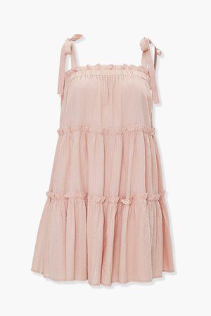Tiered Shift Mini Dress   Forever 21