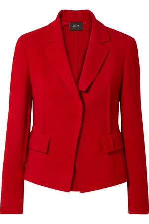 Akris | Aada wool-crepe blazer | NET-A-PORTER.COM