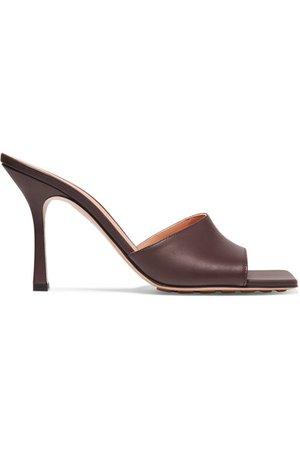 Bottega Veneta | Leather mules | NET-A-PORTER.COM