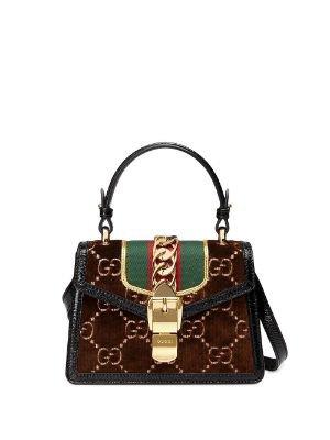Gucci Gg Marmont Shoulder Bag 5835710OLFX Black | Farfetch