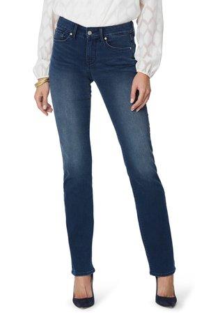 NYDJ Marilyn Straight Leg Jeans (Pilar) (Regular & Petite)   Nordstrom
