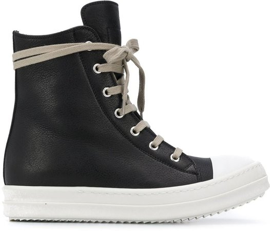 Lace Up Hi-Top Sneakers