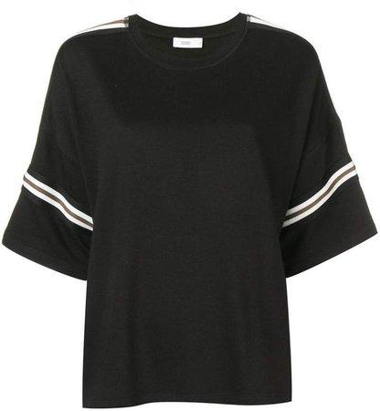 striped oversized T-shirt