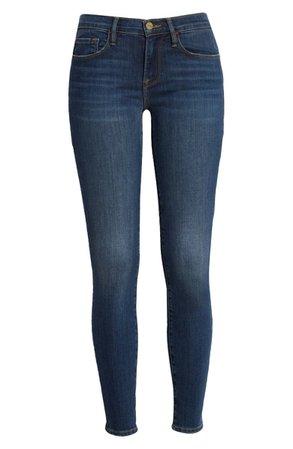 FRAME Le Skinny de Jeanne Ankle Skinny Jeans (Dublin)   Nordstrom