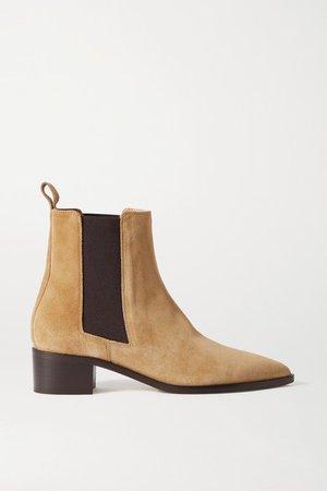 Lou Suede Chelsea Boots - Beige