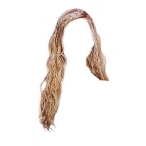 Braid Blonde Hair PNG