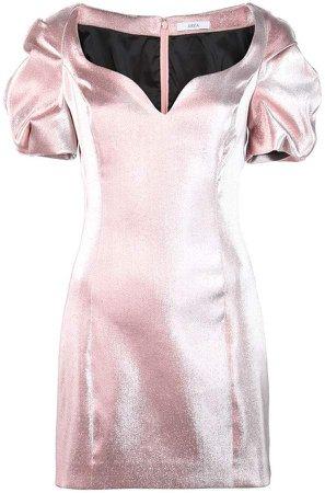 puffball mini dress
