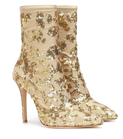 Exclusive to Mytheresa – Daze sequined ankle boots