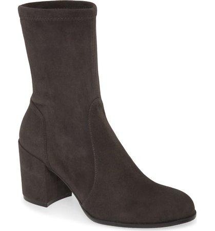 Stuart Weitzman Block Heel Bootie (Women)   Nordstrom
