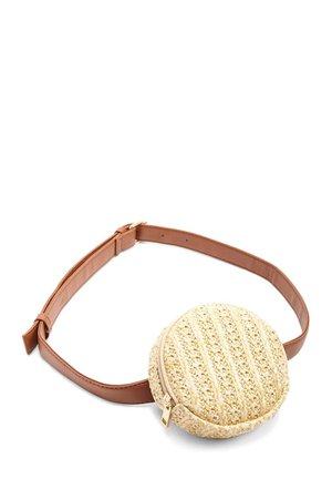 Forever21- Straw Belt Bag