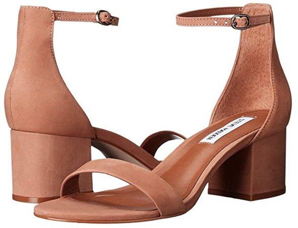 Irenee Sandal (Tan Nubuck) Women's 1-2 inch heel Shoes