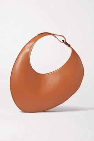 Ostra Leather Shoulder Bag - Tan