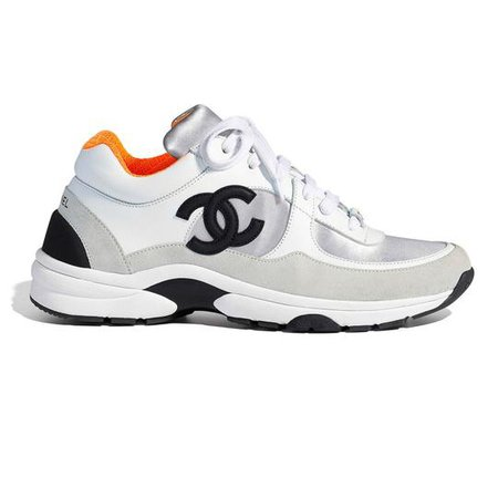 Chanel Orange Interior Lowtop Sneakers Size EU 39 (Approx. US 9) Regular (M, B) - Tradesy