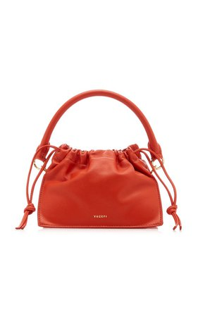 Mini Bom Leather Shoulder bag by Yuzefi   Moda Operandi