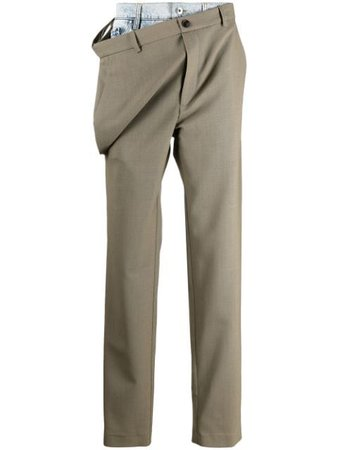 Y/Project Tailored over-trouser Jeans - Farfetch