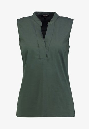 More and more sleeveless shirt olive green