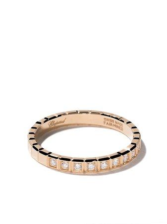 Chopard 18Kt Yellow Gold Ice Cube Diamond Ring Continuity | Farfetch.com