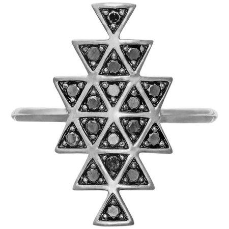 Prism ring black