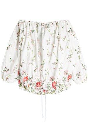 Embroidered Off-Shoulder Blouse Gr. XS