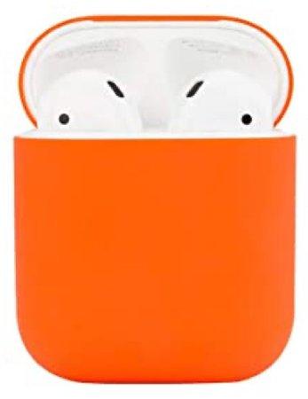 orange airpod case