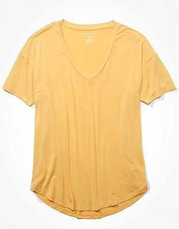 AE V-Neck T-Shirt yellow