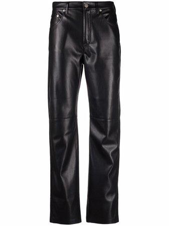Nanushka Vinni faux-leather Pants - Farfetch