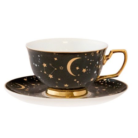 Christina Re It's Written In The Stars Cup & Saucer