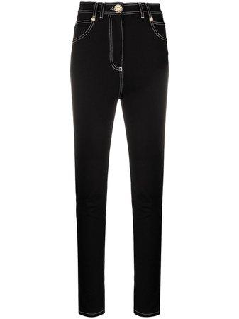 Balmain high-rise Skinny Jeans - Farfetch