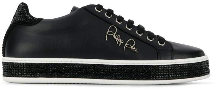 Lo-Top Crystal Sneakers