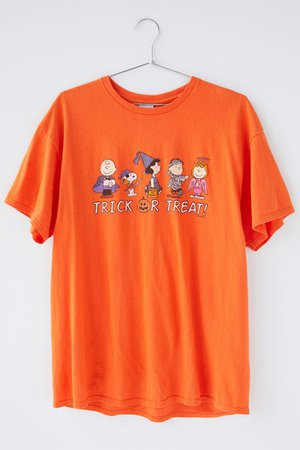 Junk Food Peanuts Trick Or Treat Tee | Urban Outfitters