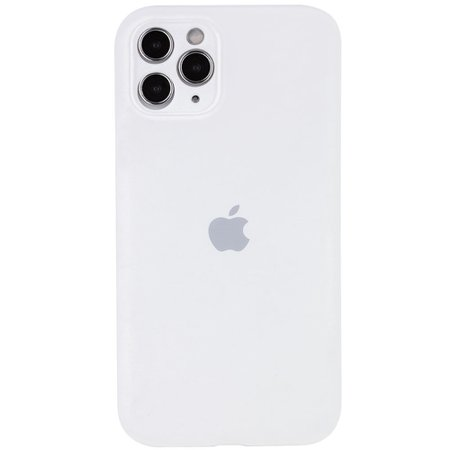 "٩(͡๏̯͡๏)۶ ЗДЕСЬ ► Чехол Silicone Case Full Camera Protective (AA) для Apple iPhone 12 (6.1"")(Белый / White)"